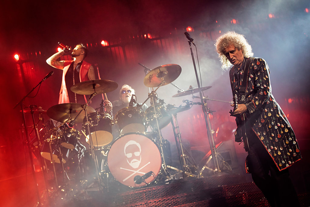 Queen + Adam Lambert in der Berliner Mercedes-Benz Arena am 19.06.2018.